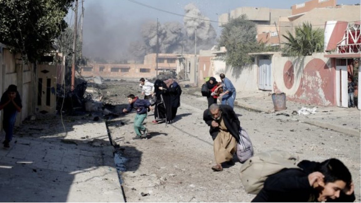 Report: US Airstrikes Kill Thousands Of Civilians In Iraq & Syria