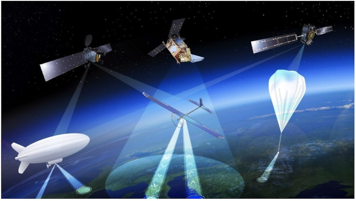 Drone-satellite hybrid could soon hover high within Earth's atmosphere