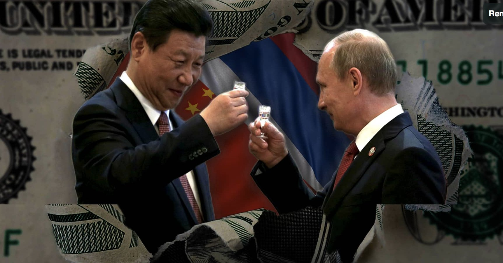 De Dollarization: China and Russia Lay Ground for Alternative to Dollar System