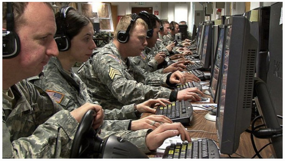 US Military Hire Thousands Of Online Trolls To Conduct 'Cyber Warfare'