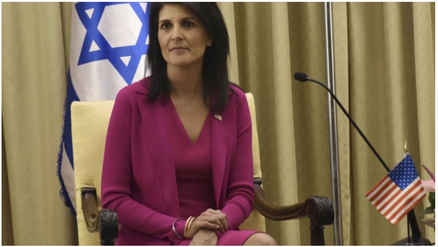 Haley Warns US 'Will Be Taking Names' During UN Vote On Jerusalem Move