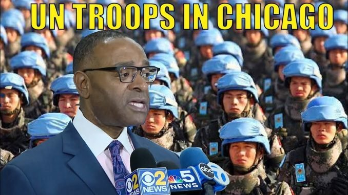 Cook County Commissioner Asks UN To Send Peacekeepers To Chicago