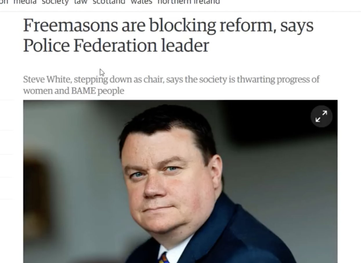Freemasons In the Police forces UNCOVERED