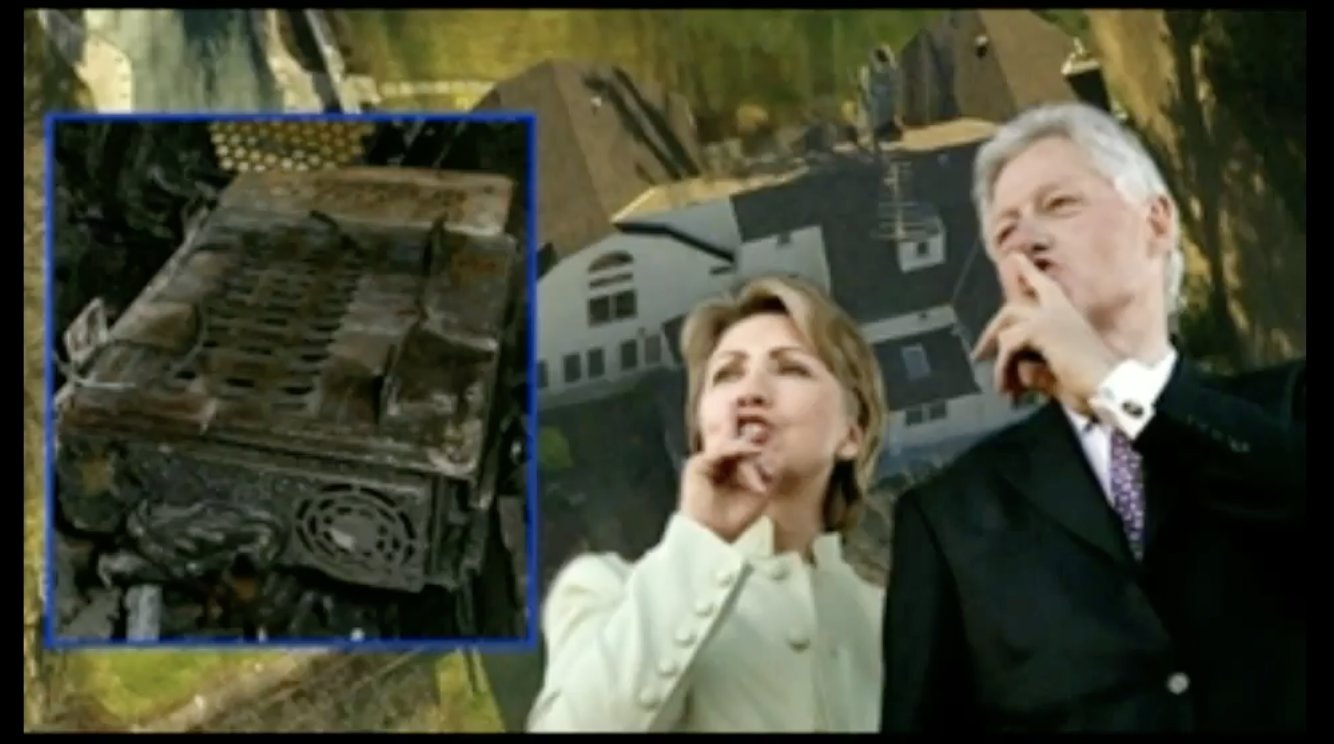 BREAKING: PedoGate Evidence Destroyed In Clinton House Fire