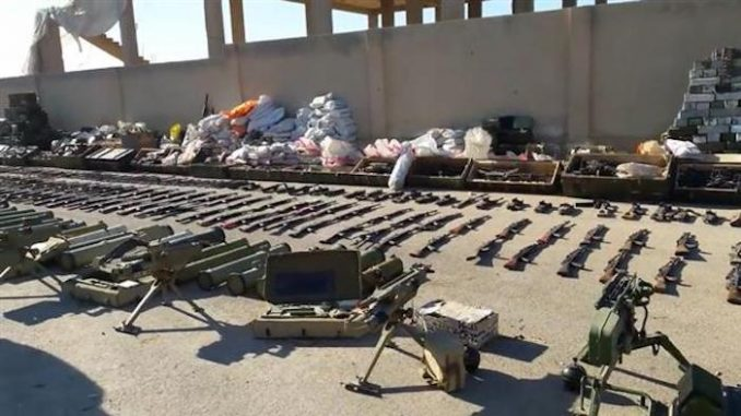 Syrian Army Intercept USA-Made Missiles Headed For ISIS