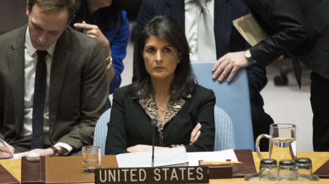 US Goes To UN Security Council To Defend Israel Against Palestinian Aggression – WHAT A JOKE!