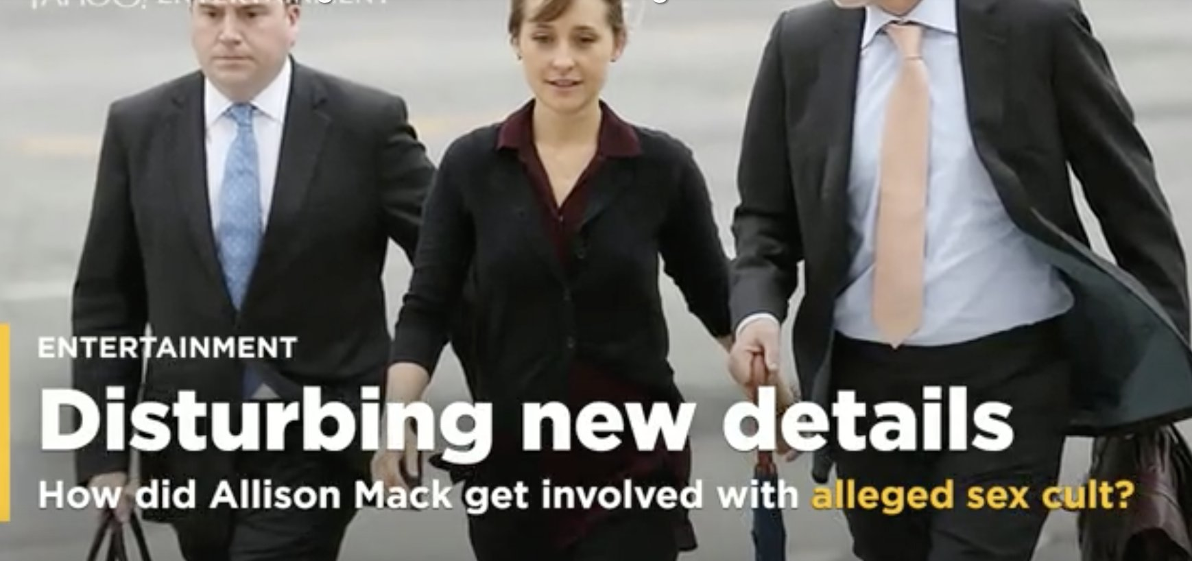 How did Allison Mack get involved with an alleged sex cult in the first place? Disturbing new details emerge