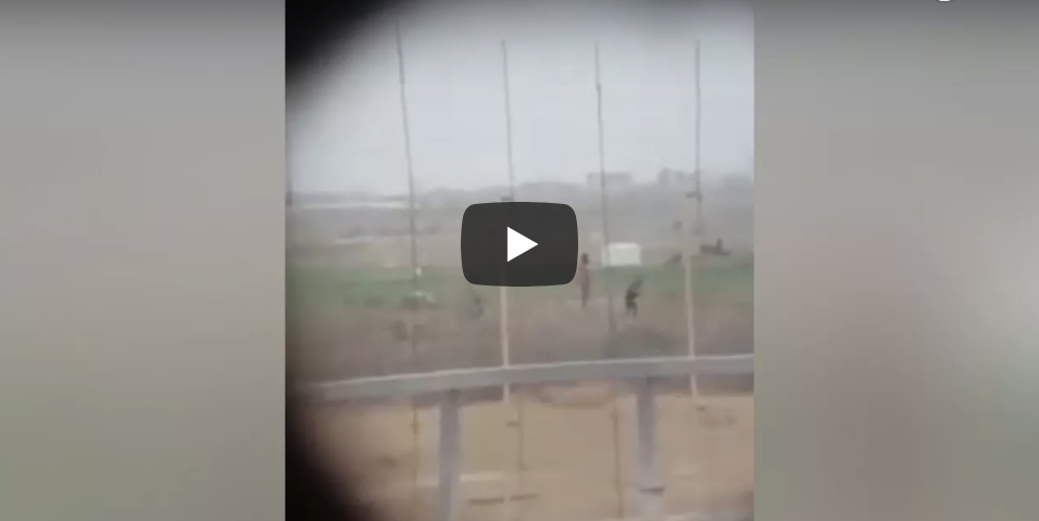 Video emerges of cheering as Israeli sniper shoots Palestinian