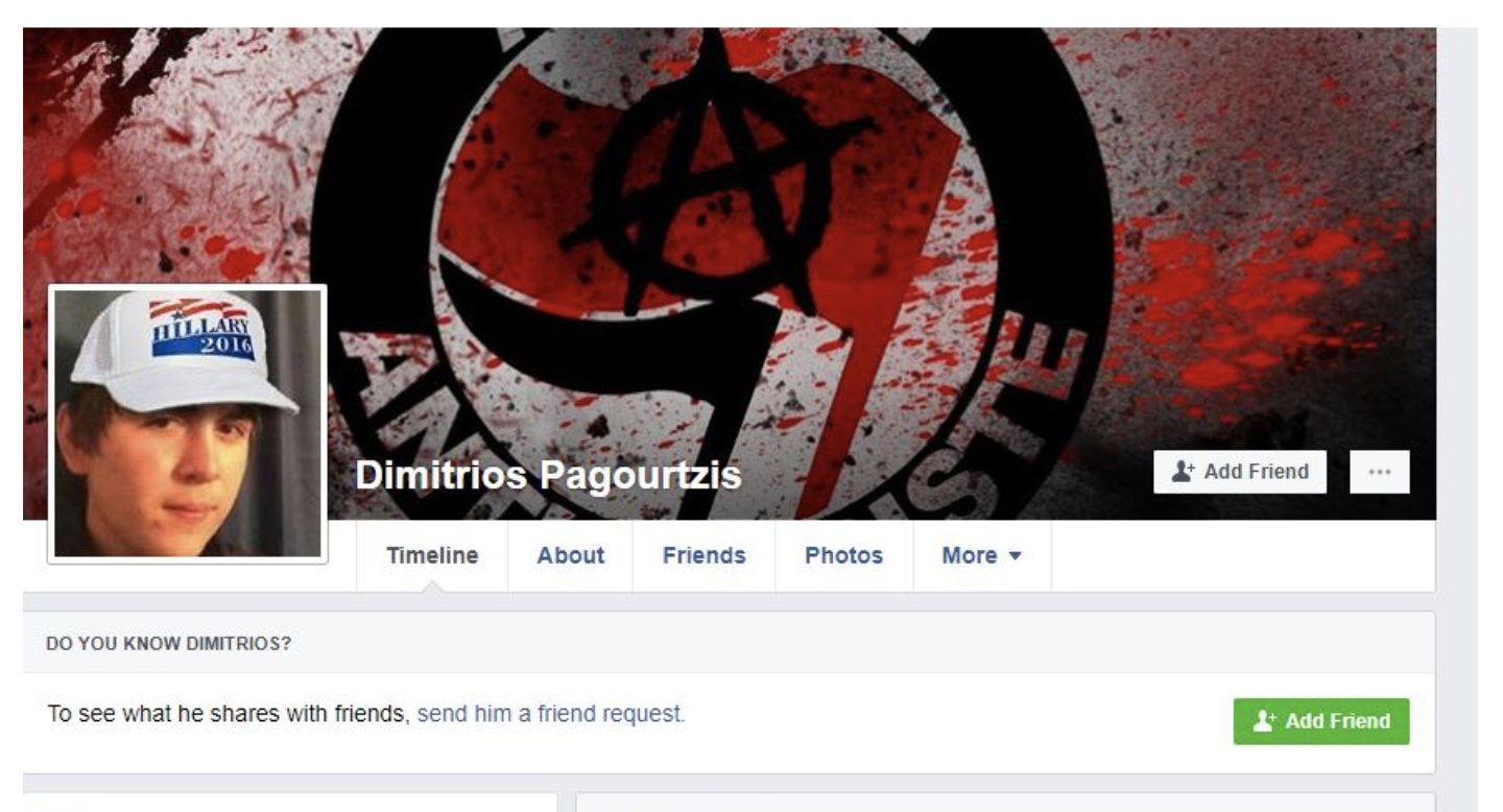 The Deep State set up a FAKE Facebook account for their agent Dimitri Pagourtzis and then TOOK IT DOWN because it was FAKE! #SantaFeShooting