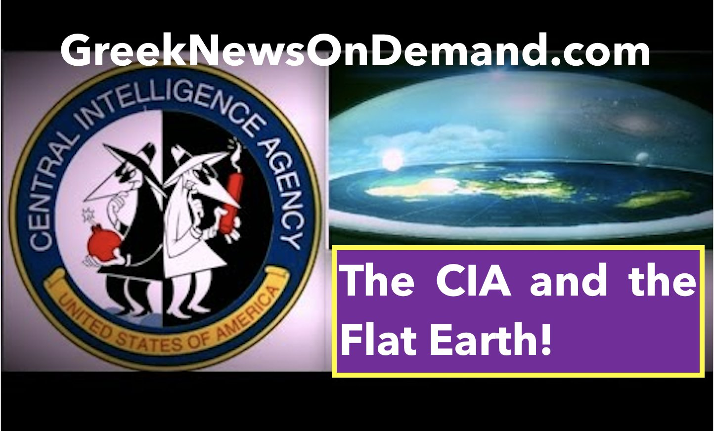 The C.I.A. released a document from the 1950's that mentions Flat Earth and the Firmament (the Dome)!!!