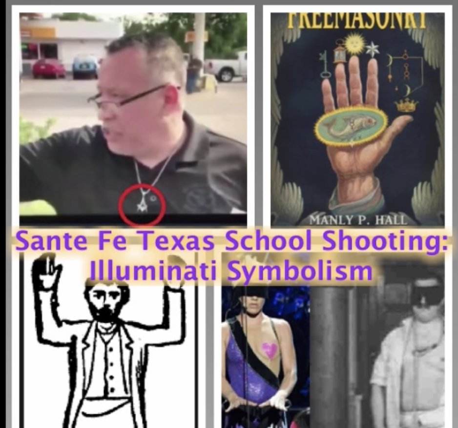 Santa Fe Texas School Shooting: Illuminati Symbolism of Baphomet, the Occult, Freemasons, and more