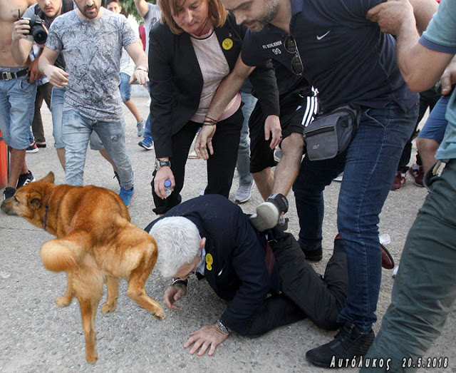 Nationalist mob attack Thessaloniki mayor at remembrance ceremony (VIDEO). TOO BAD….