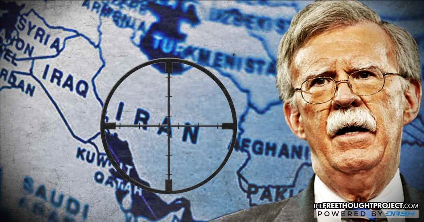 WATCH: John Bolton Promises Room Full of 'Former Terrorists' the US Would 'Overthrow' Iran by 2019