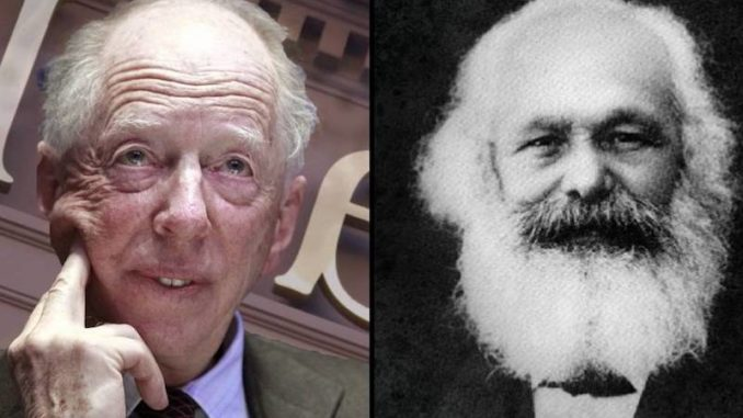 Historians Confirm Karl Marx Was Employed By The Rothschilds