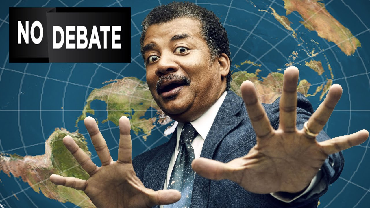 Why Neil deGrasse Tyson failed to prove Earth isn't flat