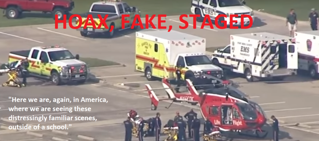 The Fake Wounded and More of the Santa Fe High School Shooting Hoax