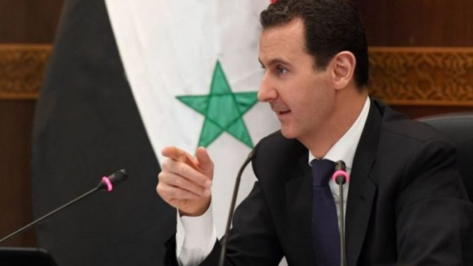 Assad Says US Using Chemical Weapons As Pretext For Intervention In Syria