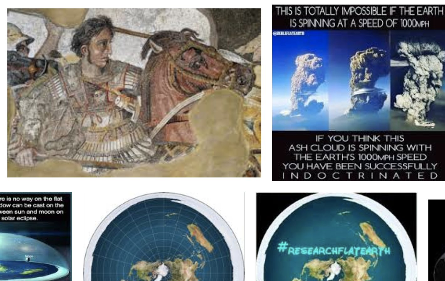 Alexander the Great and the flat Earth
