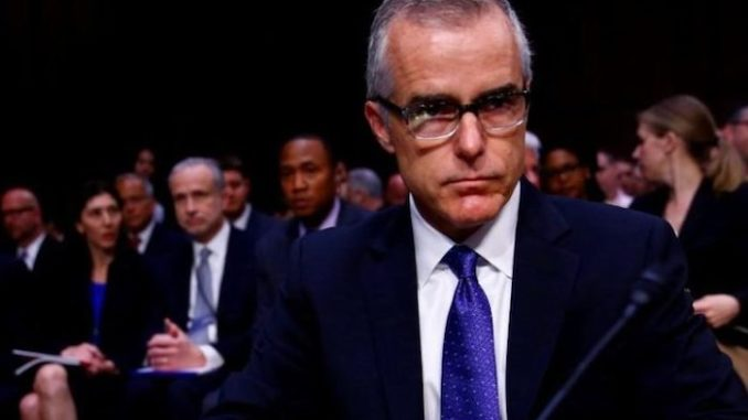 Andrew McCabe Begs Congress Not To Send Him To Jail