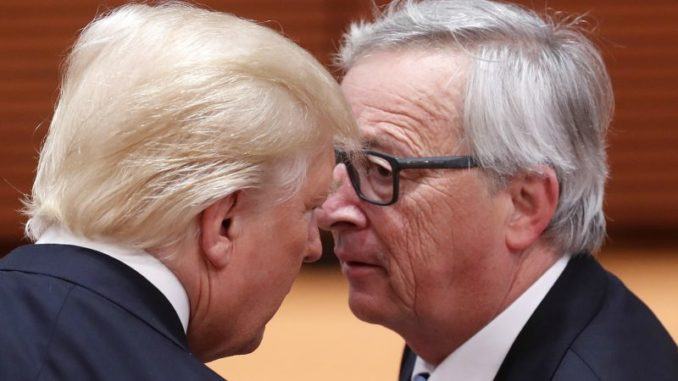 """Trump Just Told EU President """"You're A Brutal Killer"""" To His Face"""