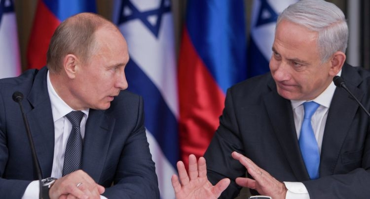 Netanyahu May Offer Putin: Remove Iran From Syria for Lifting of U.S. Sanctions on Russia