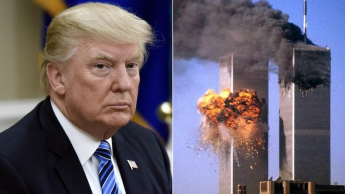 Trump: New Evidence Proves Bush & Clintons Orchestrated 9/11. It was actually his JEWISH friends and the Mossad, FOOLS!