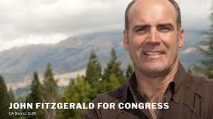 """John Fitzgerald, a Republican candidate for the House in California, states the OBVIOUS about the """"Holocaust"""". Jews gone wild as a result…"""