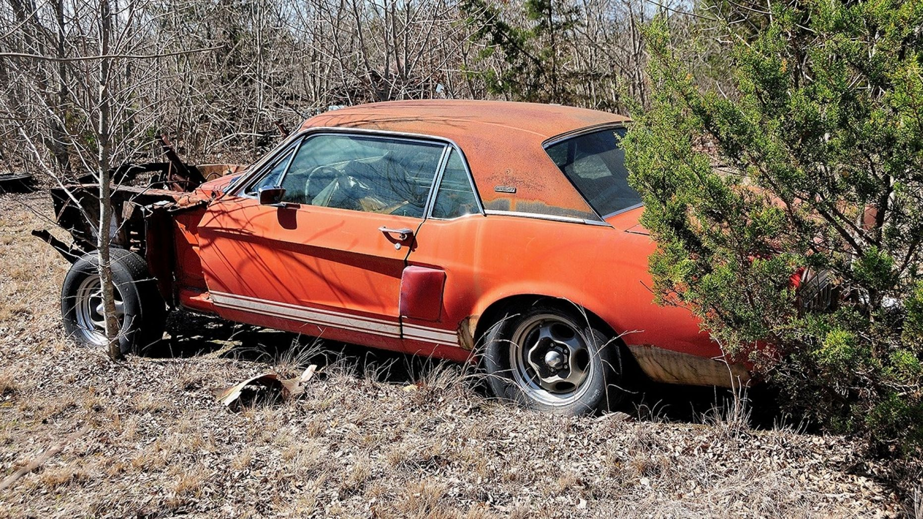 'Little Red' 1967 Ford Mustang Shelby GT500 found after 50 years, could be worth millions