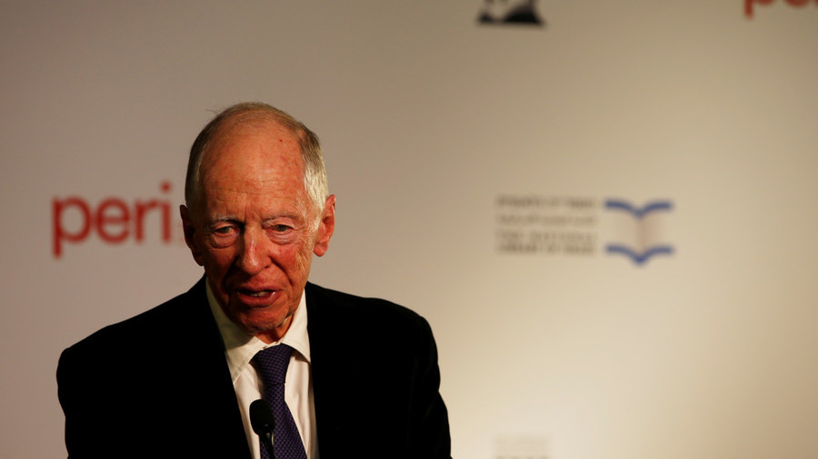 Jacob Rothschild worried about new world economic order