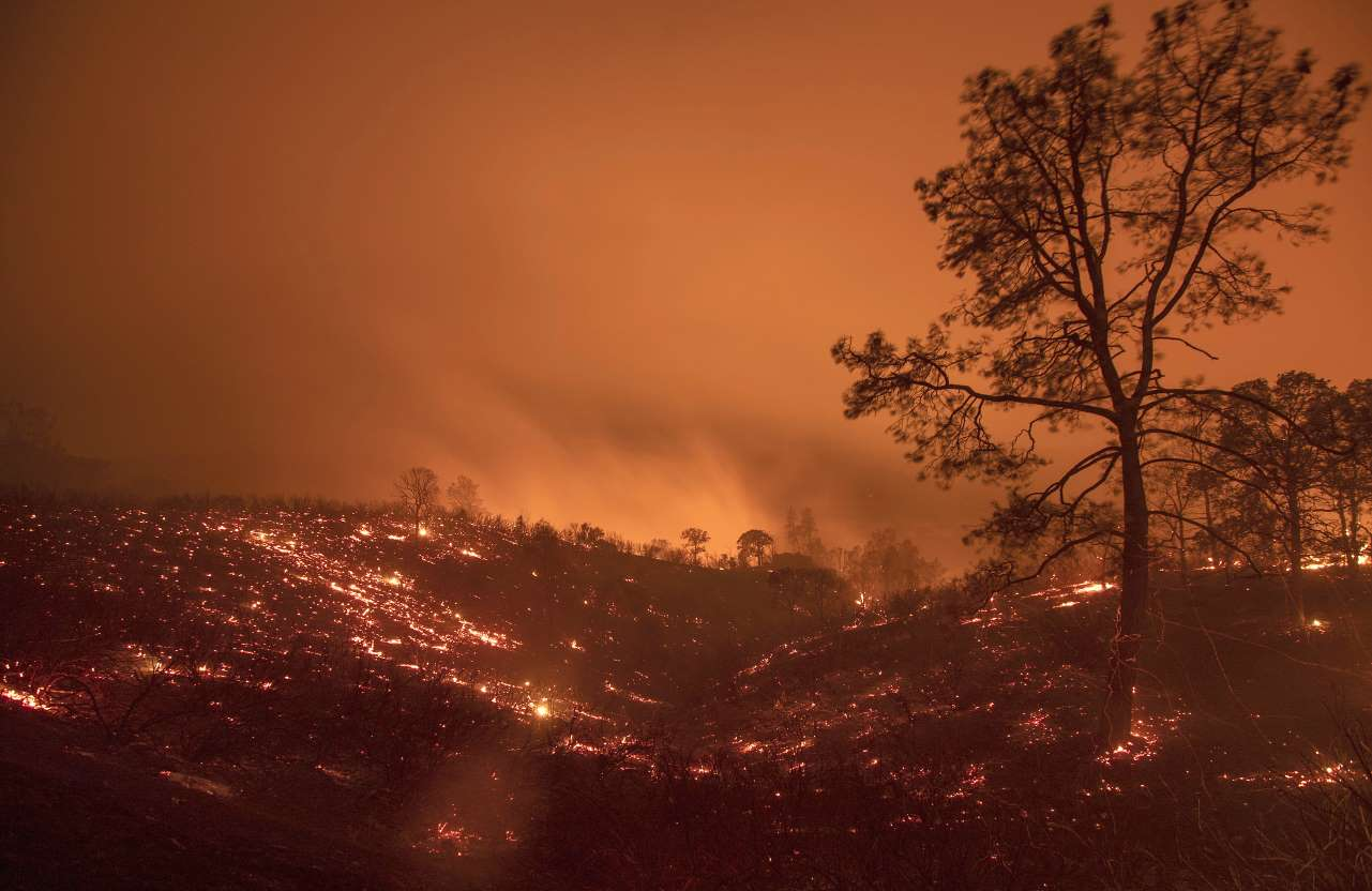 Mendocino Complex fire now second largest in California history, officials say