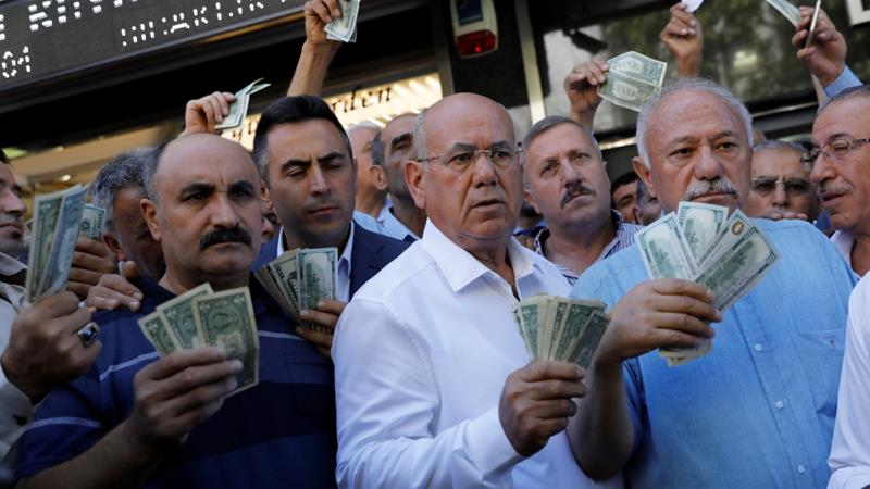 Turkey's lira turmoil could herald a global financial crisis as Greece exist its third Bailout