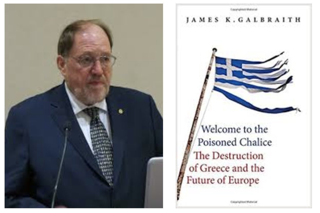 Former Gianis Varoufakis advisor James K. Galbraith: Greece in a PERMANENT STATE of THRALDOM to its creditors