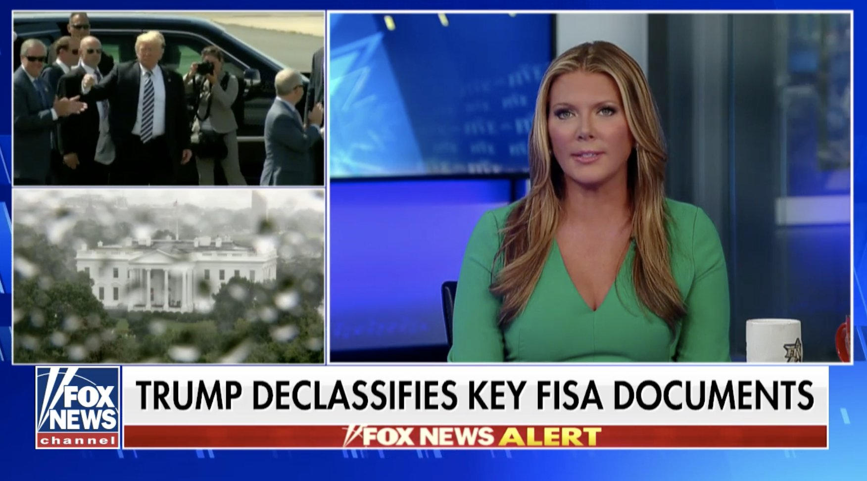 Trump orders feds to declassify key FISA documents, text messages in FBI Russia probe
