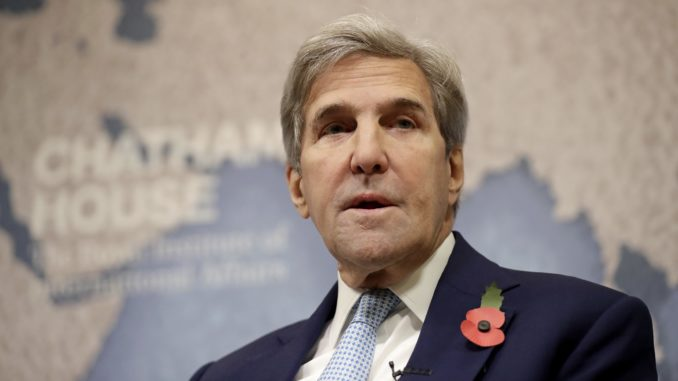 White House Consider Criminal Indictment Against John Kerry