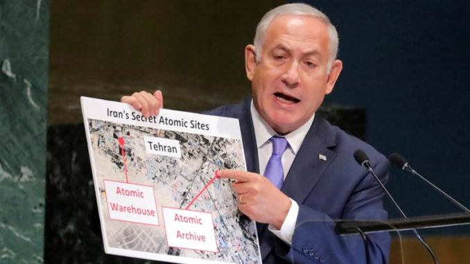 "US Intel Officials Say Netanyahu's Claims Of ""New"" Iranian Atomic Facility Are Not True"