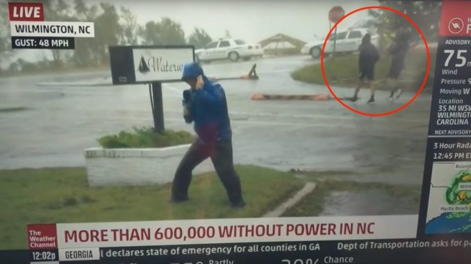 Weather Channel Caught Staging Fake News During Hurricane Coverage