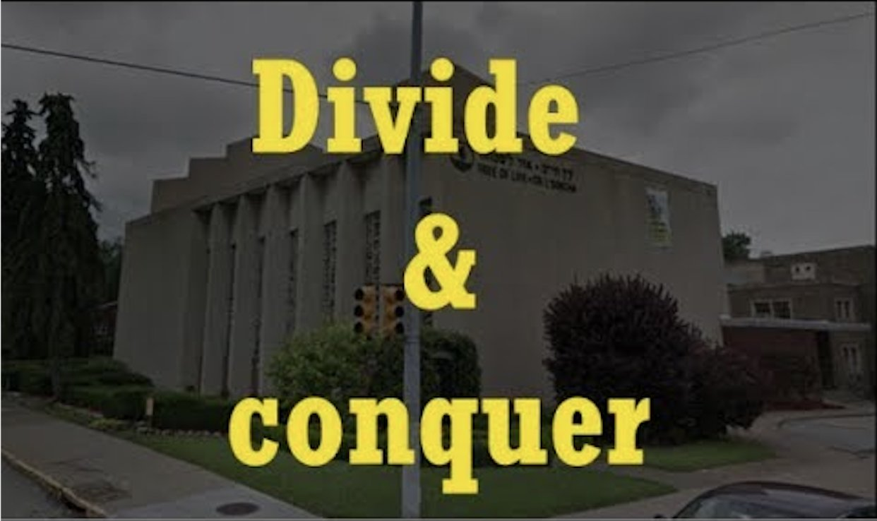 Shooting at Pittsburgh Synagogue is a FALSE FLAG to DIVIDE CONQUER!