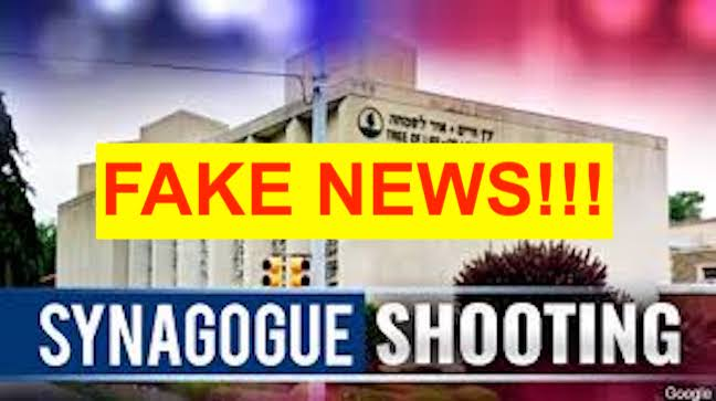 """Pittsburgh Synagogue Shooting is Yet Another Arch-Zionist Hoax with FAKE """"DEAD"""" and """"EYEWITNESSES""""!"""