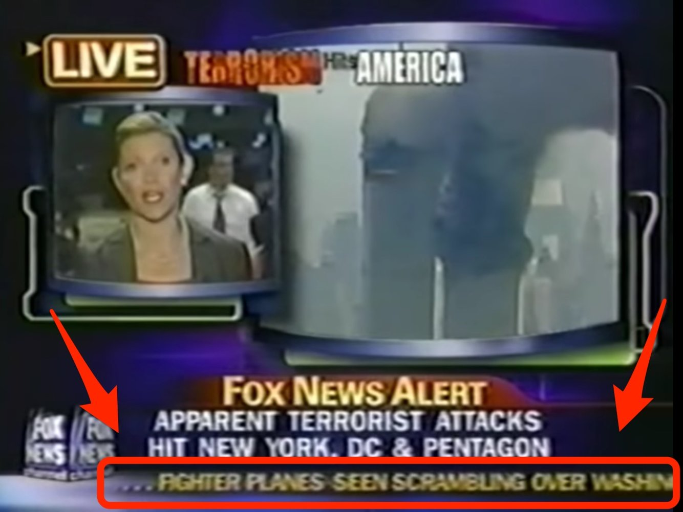 9-11 Attack Aired on FOX Channel Months Before Sept. 11, 2001