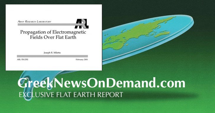 Army Research Laboratory: Propagation of Electromagnetic Fields Over Flat Earth | #FlatEarth