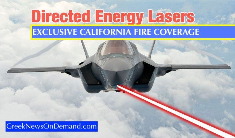 Lockheed Martin Directed Energy Weapons in relation to the #CaliforniaFires
