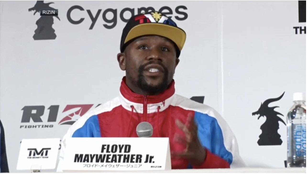 Floyd Mayweather to make Rizin debut in December