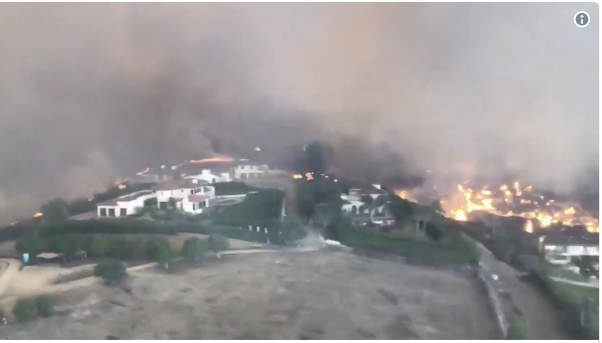 Malibu Fire Jumps to 35,000 Acres as Dozens of Homes Destroyed including Caitlyn Jenners'