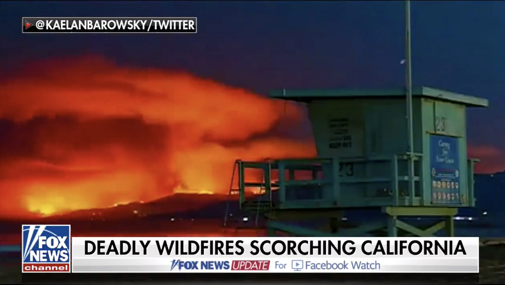 California Fires Update: More than 8,000 firefighters on the job! 29 dead more than 200 missing!
