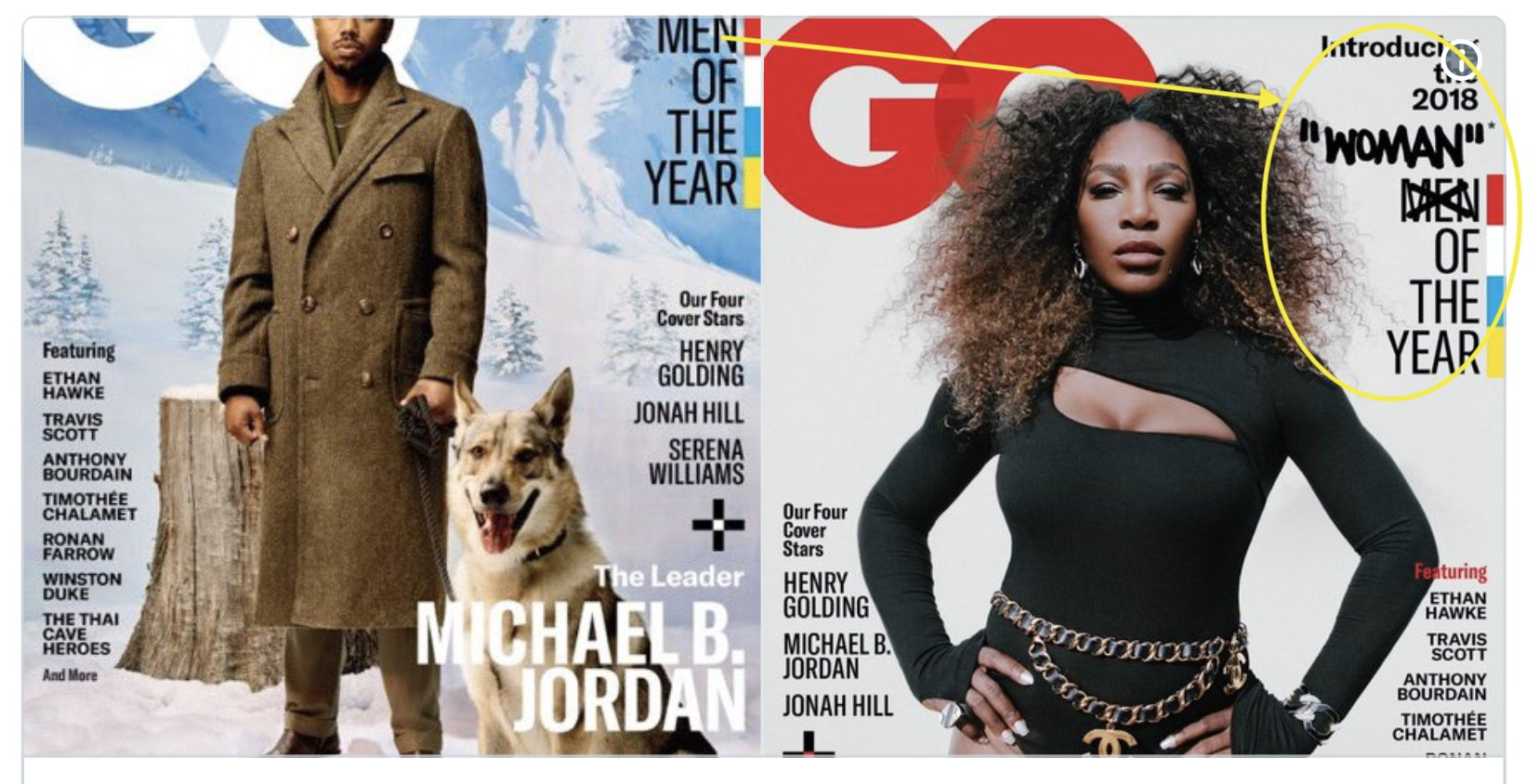 Serena Williams GQ cover sparks outcry