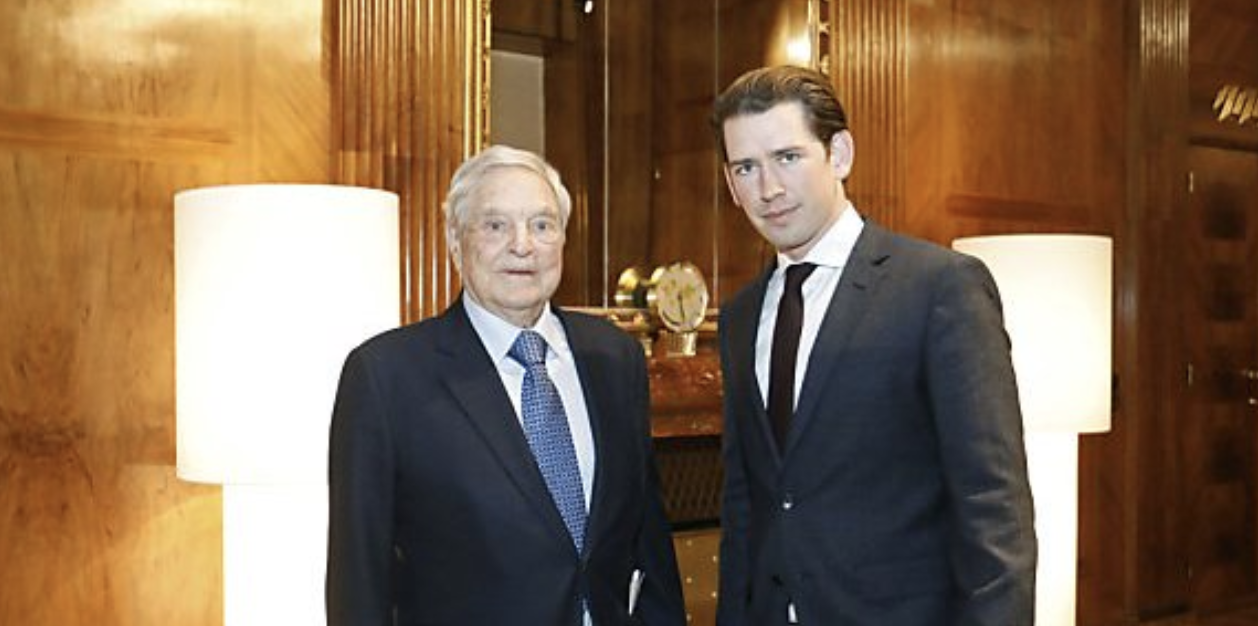 Austria's Kurz meets with billionaire George Soros to discuss CEU move to Vienna
