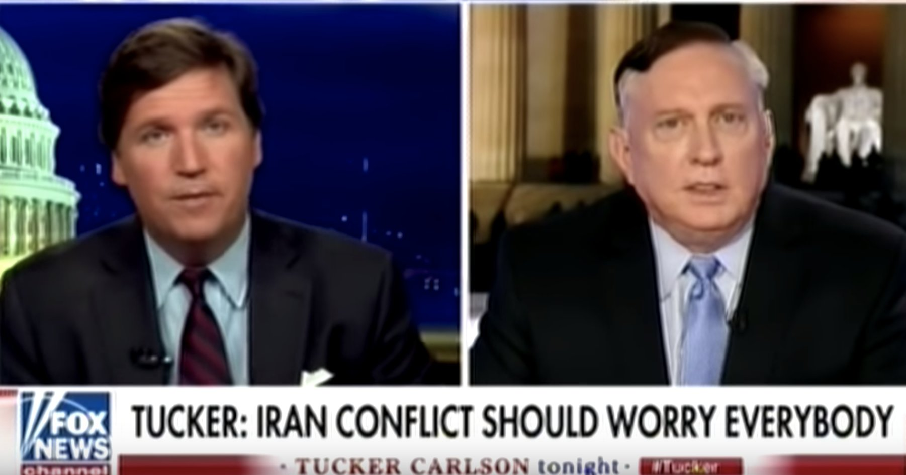 Guest on Tucker Carlson on Fox News show says Gulf of Tonkin incident was a…FALSE FLAG!