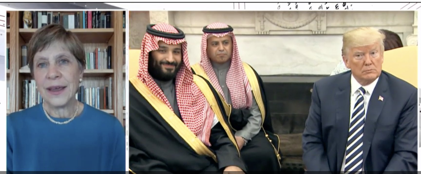 Mary Anne Marsh: What is the Trump, CIA and Saudi Arabia connection?