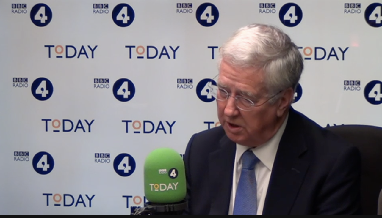 Theresa May's Brexit deal is doomed – Sir Michael Fallon