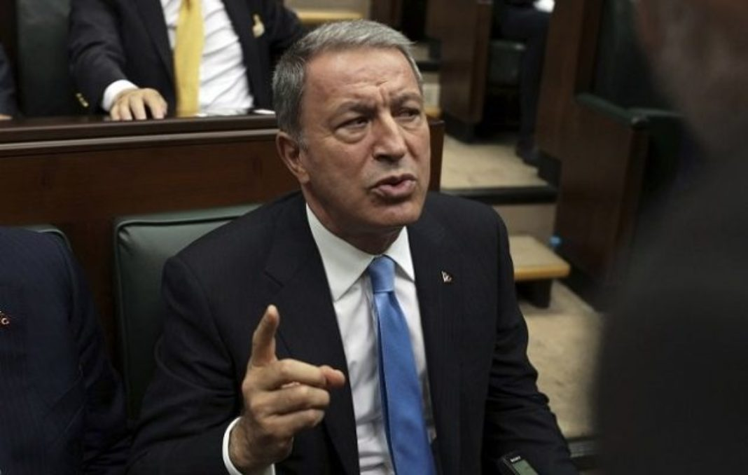 Turkish Defense Minister Again Threatens Greece and Cyprus